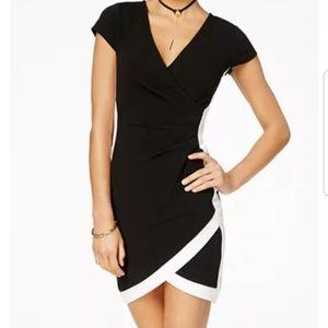 Wrap Style Dress- Polka Dots